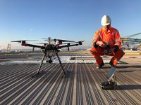 Inspecting Flares using a Drone: no loss of production and no compromises on safety!