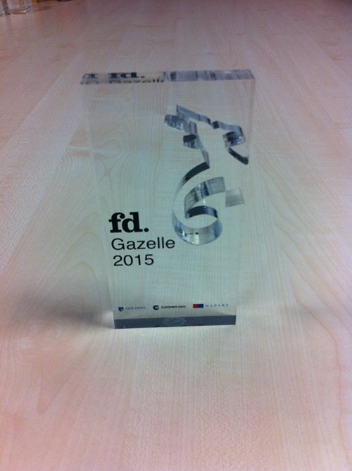 Escher proud to be ranked 2nd in the top 3 fastest growing medium-sized companies in the Netherlands